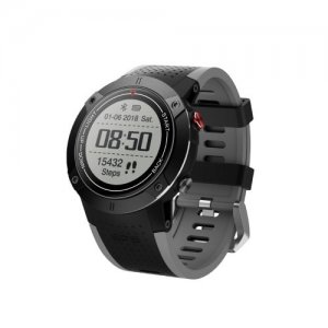 Satellite Positioning Multi-Function Air Pressure Outdoor Sports Watch - GRAY