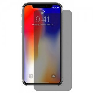 Hat - Prince 0.26mm 9H 2.5D Tempered Glass Screen Protector for iPhone XS Max - DARK GRAY