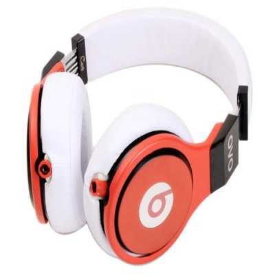 Beats Professional Detox Limited Version Substantial Performance Expert Headphones White Red