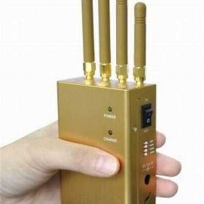 Handheld Cellular Phone GPSL1 Signal Jammer with Selectable Button