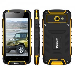 VCHOK F6 Rugged Smartphone 4.5 inch qHD Screen MTK6582 Quad Core 1.3GHz