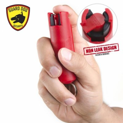 6PCS Personal Defense Pepper Spray Keychain With Belt Clip