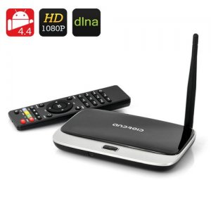 Q7 CS918 Android 9.1 TV Box - RK3188T Quad-Core CPU, 1GB RAM, 8GB Internal Memory, DLNA/Miracast Support, 1080p Support