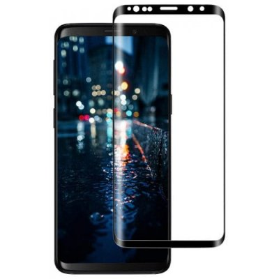 For Samsung Galaxy S9 Full Screen Curved Tempered Film - BLACK