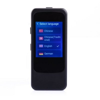 ITransABC Translator N10 Multi-National Language Intelligent Speech Travel Trans - NATURAL BLACK