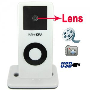 Mini Size DV with 1.3 MEGA Pixels Support PC Camera Function