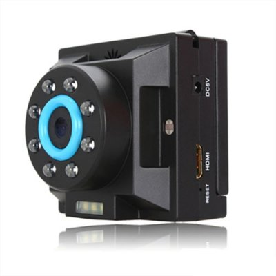 2.0 Inch TFT HD 720P 140 Degree Car DVR with 30FPS Motion Support Night Vision
