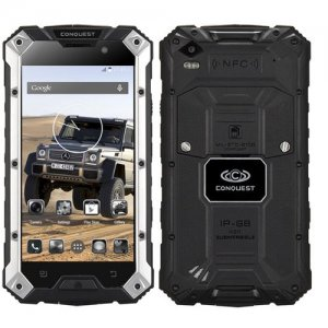 Conquest S6 Plus Rugged Smartphone 5.0 inch HD Screen MTK8752 Octa Core 3G 32GB