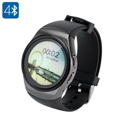 Bluetooth Smart Watch Phone - GSM, Bluetooth 4.0, Music, Pedometer, Sedentary Reminder, Anti-loss, Heart Rate Monitor