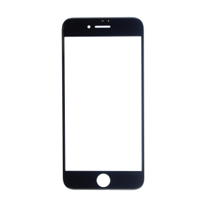 iPhone 7 Glass Lens Screen - Black