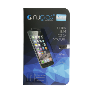 NuGlas Tempered Glass Screen Protector for iPhone X (2.5D) (Front + Back)