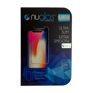 NuGlas Tempered Glass Screen Protector for iPhone XR (2.5D)