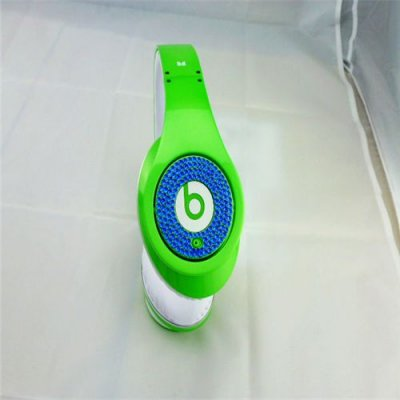 Beats Studio Headphones Green With Blue Diamond Edition
