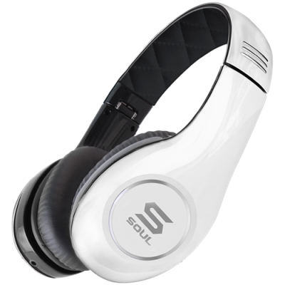 Soul By Ludacris SL150BW PRO HI-DEFINITION ON-EAR HEADPHONES-White