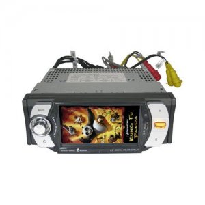 4.3 inch Touch Screen Car DVD Player - TV - FM - SD Card