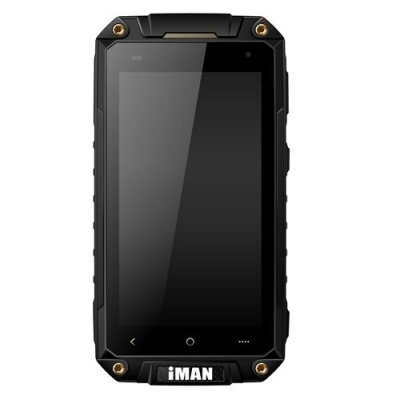 iMAN i6800 Smartphone 4.7'' HD Screen MTK6582 Quad Core Android 9.1 1G/8GB IP67 Waterproof - Black