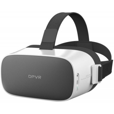 DPVR P1 4K VR Glasses Virtual Reality Headset - MILK WHITE