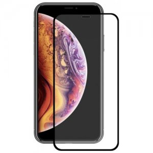 Hat - Prince 2.5D 0.2mm 9H Tempered Glass Full Screen Protector for iPhone XS - iPhone X - BLACK
