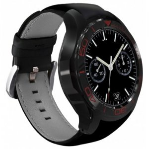 S1PLUS MTK6580 Switch Theme 3G GPS BT4.0 For Android - IOS 2MILLION Camera Heart Rate Monitor Fitness 512M 8G Smartwatch - BLACK