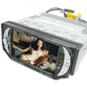 5 inch Touch Screen Car DVD Player - TV - RDS - Remote Control