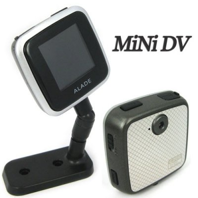 2 Million Color CMOS Mini DV with 1.44 Inch TFT Screen and High Resolution