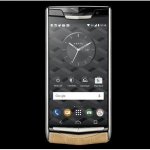 Vertu Signature Touch Almond Alligator Clone Android 9.1 Snapdragon 821 4G LTE luxury Phone