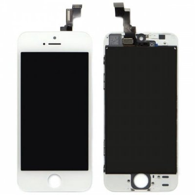 Screen Assembly For iPhone 5S - WHITE
