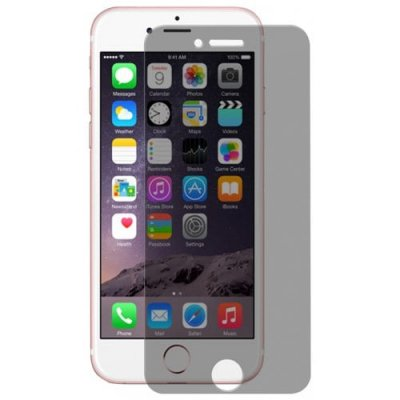 Hat - Prince Anti-peep Tempered Glass Screen Film for iPhone 7 - TRANSPARENT