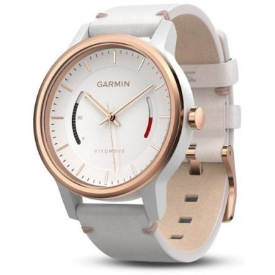 Garmin vivomove Smartwatch - WHITE