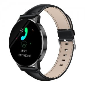 OUKITEL W3 Smart Bracelet 1.3 inch Color Screen Smartwatch - BLACK