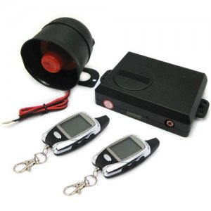 FSK Technology Two Way Car Alarm System Support 5000M Monitoring Range