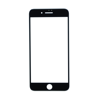 iPhone 7 Plus Glass Lens Screen - Black