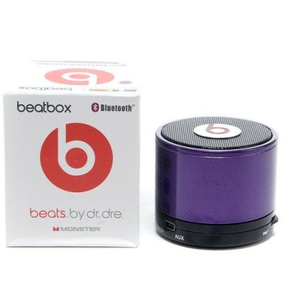 Beats By Dr Dre Beatsbox Portable Bluetooth Mini Speakers Purple