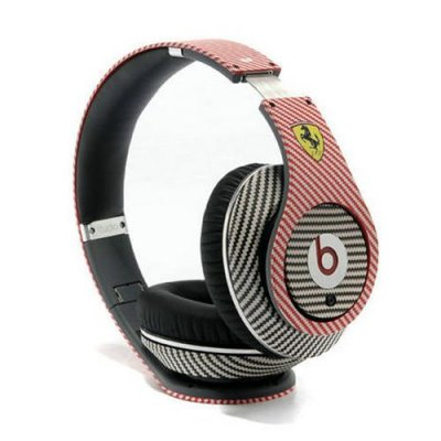 Beats By Dr Dre Studio Ferrari Racing Ultimate Headphones Red