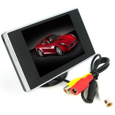 3.5 Inch TFT-LCD Monitor with Pocket-sized Color LCD Display