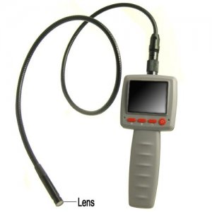 Waterproof Handheld Snake Video Inspection Camera with 2.4 Inch LCD Minitor