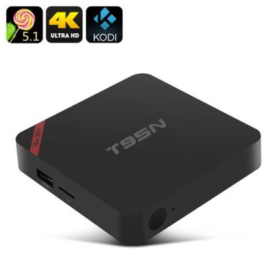 T95N-MINI MX+ Android TV Box - 4K, Android 11.0, Amlogic S905, Kodi, HDMI, 1GB RAM + 8GB Memory
