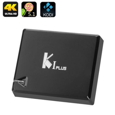 K1 Android TV Box - Android 11.0, 4K, Amlogic S905 Quad Core CPU, HDMI 2.0, H.265 Decoding