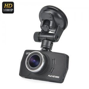 Ordro Q605 1080P Car DVR - 1/3 Inch CMOS, 3-Axis G-Sensor, Motion Detection, Loop Recording, 170 Degree Lens