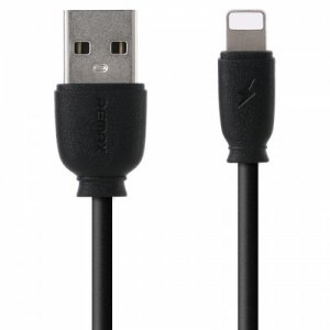 REMAX RC - 134i Data Cable for iPhone and iPad - BLACK