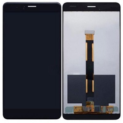 LCD Screen Digitizer Full Assembly for Huawei Honor V8 Black - BLACK