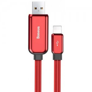 Baseus CALLG - 01 Streaming 8 Pin 2.4A Data Cable 100cm - RED