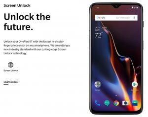 OnePlus 6T 6.41 Inch 3700mAh Fast Charge Android 9.1 Snapdragon 845 4G Smartphone