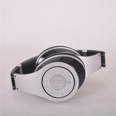 Beats By Dr. Dre Studio Limited Edition Silver With Diamond