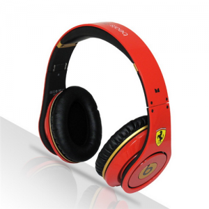 Beats By Dr Dre Ferrari Limited Edition Red Headphones