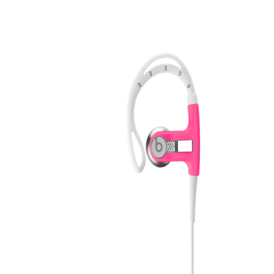 Beats By Dr Dre PowerBeats Clip-On Pink Headphones