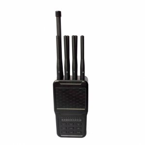 Handheld Selectable Newest 8 Antennas 4W Cell Phone 3G 4G Jammer WIFI GPS Jammer
