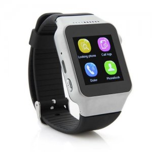 ZGPAX S39 Smart Watch Phone 1.54 Inch Touch Screen Bluetooth Camera FM - Sliver