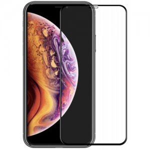 Hat - Prince 6D 0.26mm 9H Tempered Glass Full Screen Protector for iPhone XS Max - BLACK