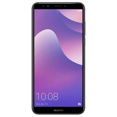 HUAWEI Y7 Pro 2018 4G Phablet Global Version - BLACK
